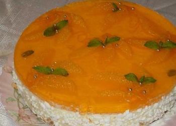 """Neceptā """"Selgas"""" cepumu – biezpiena kūka ar apelsīniem"""