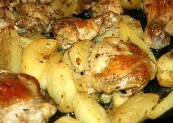 Vistas gaļa ar kartupeļiem