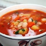 Pupiņu zupa ar papriku