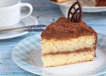 "Torte ar ""Šarlotes"" krēmu"