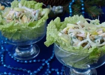 """Tītara filejas salāti """"Serpentīns"""""""