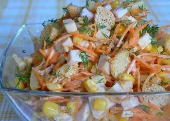 """Vistas filejas salāti ar kukurūzu """"Karuselis"""""""