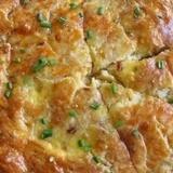 Закусочный пирог с плавленым сыром