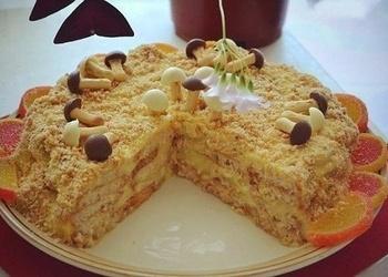 "Ātrā ""Napaleona"" torte"