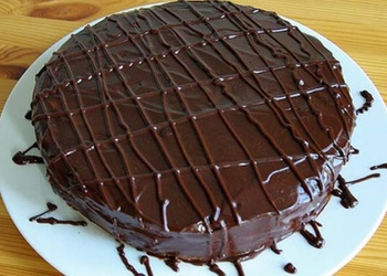 Viegla šokolādes kūka
