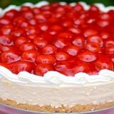 Biezpiena torte bez cepšanas ar augļiem