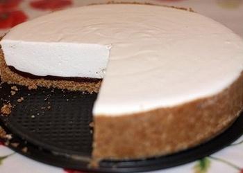 Neceptā auzu pārslu cepumu – biezpiena kūka