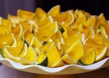 Citrona šķēlītes alko - želejā