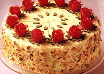 Ķiršu torte ar mandelēm