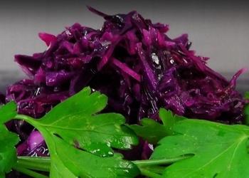 Sarkano kāpostu salāti - VIDEO RECEPTE
