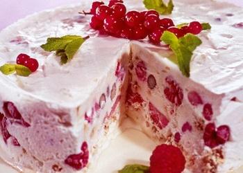 """Saldējuma torte ar """"Selgas cepumiem"""""""