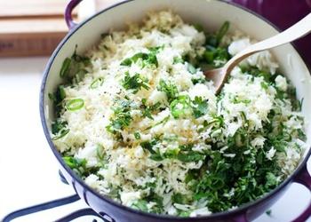 Rīsi ar zaļumiem
