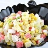 Krabju salāti ar ananāsiem