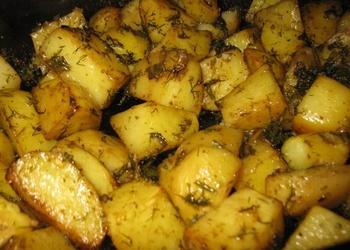 Kartupeļi ar pipariem un sieru