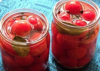 Marinētie tomāti ar medu