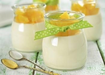 Klasiskā piena želejas recepte