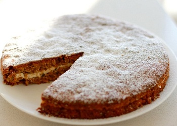 Valriekstu kūka franču gaumē