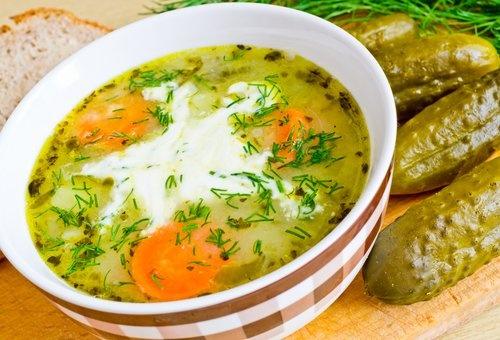 Суп из соленых огурцов рецепт 102