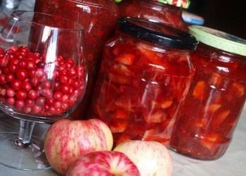 Brūkleņu un ābolu džems