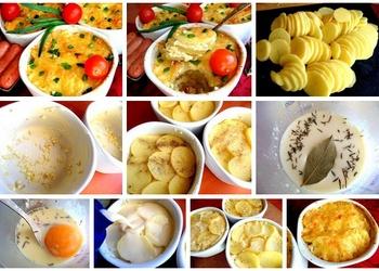 Krāsnī cepti kartupeļi franču gaumē