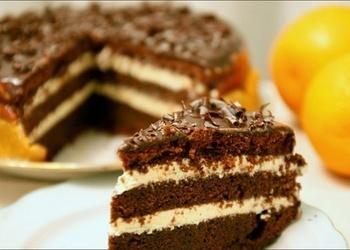 Šokolādes kefīra kūka