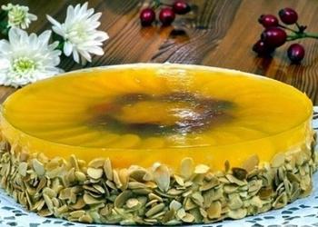 Augļu – mandeļu kūka