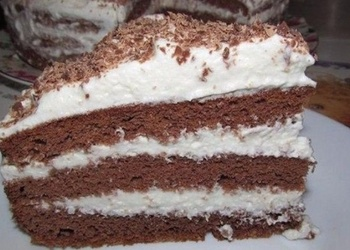 Šokolādes kūka uz kefīra bāzes