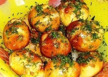Biezpiena un kartupeļu bumbiņas
