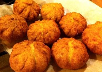 Čederas - Parmas siera bumbiņas ar pētersīļiem