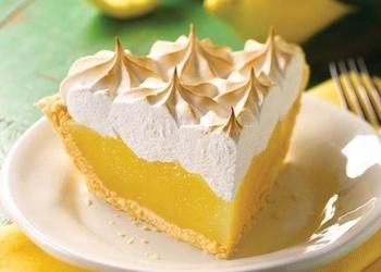 Itāļu citrona krēma kūka ar smilšu mīklas pamatni
