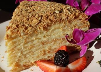 """Lielā torte """"Napoleons"""""""