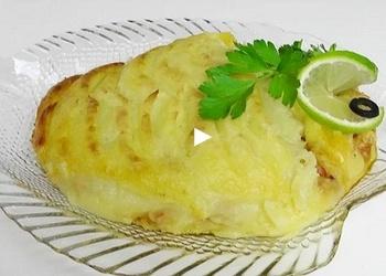 Zivju sacepums ar kartupeļiem