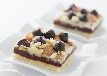 Šokolādes - riekstu cepumi