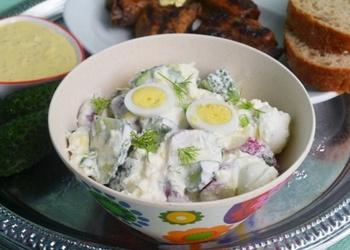 Pavasara salāti redīsi ar biezpienu