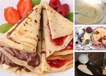 Kā vislabāk pagatavot pankūku mīklu un cept pankūkas