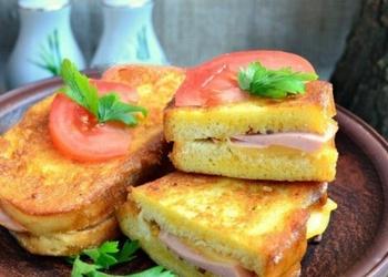 Karstmaizītes ar desu un sieru