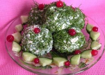 Siera-olīvu bumbiņas