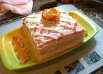 Krabju nūjiņu torte