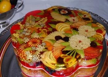 """Aleksandra"" augļu torte"