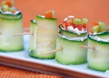 Veģetārie dārzeņu rullīši