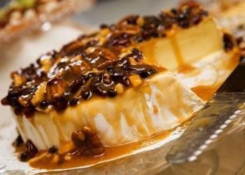 Biezpiena – kafijas kūka ar piena šokolādi