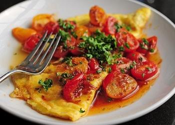 Olas ar tomātiem