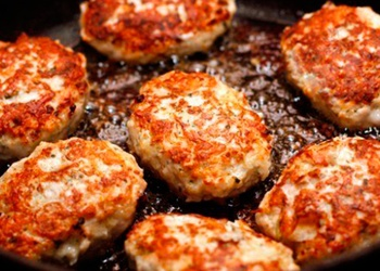 Vistas gaļas kotletes - 20 minūtēs