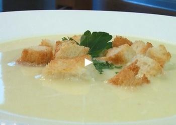 Kartupeļu biezeņzupa - VIDEO RECEPTE