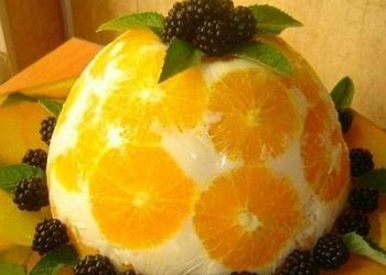 Apelsīnu – jogurta kūka