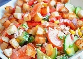 """Dārzeņu salāti """"Ēdelveiss"""""""