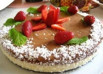 """""""Selgas"""" cepumu – šokolādes krēmu kūka"""