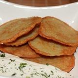 Kartupeļu pankūkas krievu gaumē