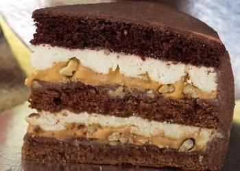 "Gaisīga ""Snickers"" krēma torte"