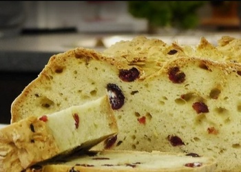 Īru sodas maize ar rozmarīnu un dzērvenēm - VIDEO RECEPTE